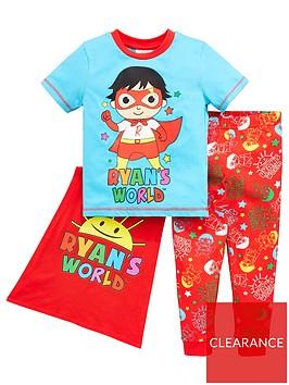 ryans-world-boys-ryans-world-cape-pjnbspset-multi