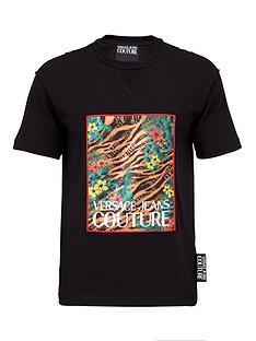versace-jeans-couture-menrsquosnbsptiger-print-logo-t-shirt-black
