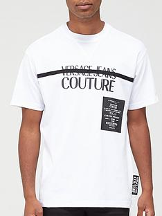 versace-jeans-couture-chest-stripe-logo-t-shirt-white