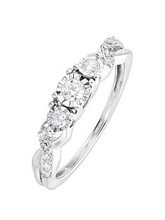 love-diamond-9ct-white-gold-025ct-diamond-infinity-ring