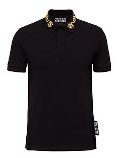 versace-jeans-couture-menrsquosnbspbaroque-embroidery-collar-polo-shirt-black