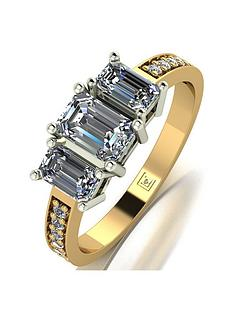 moissanite-moissanite-lady-lynsey-9ct-gold-120ct-shoulder-set-emerald-cut-trilogy-ring