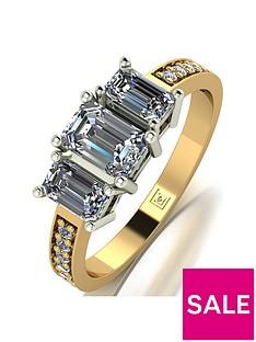 moissanite-moissanite-lady-lynsey-9ct-gold-120ct-shoulder-set-emerald-cut-trilogy-ring