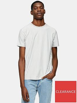 topman-vertical-stripe-t-shirt--nbspgrey