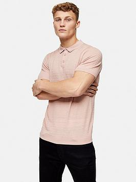 topman-knitted-stitch-polo-shirt-pink