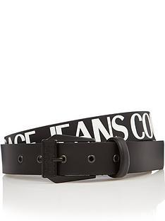 versace-jeans-couture-mens-logo-print-leather-belt-black