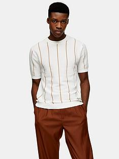 topman-knitted-stripe-crew-neck-t-shirt-cream