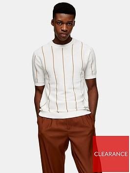 topman-knitted-stripe-crew-neck-t-shirt-cream