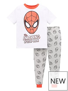 spiderman-boysnbspthe-amazing-spiderman-pjnbspset-multi
