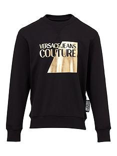 versace-jeans-couture-menrsquosnbsphalf-label-logo-sweatshirt-ndash-black