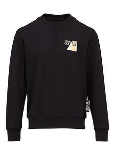 versace-jeans-couture-menrsquosnbspchest-logo-sweatshirt-ndash-black