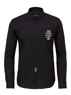 versace-jeans-couture-menrsquosnbspchest-logo-slim-fit-shirt-black