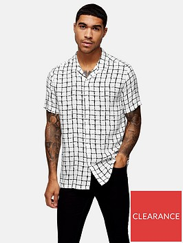 topman-check-revere-shirt-white