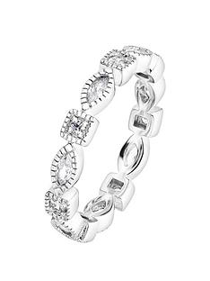 the-love-silver-collection-sterling-silver-round-and-marquise-shaped-white-cubic-zirconia-milgrain-eternity-ring
