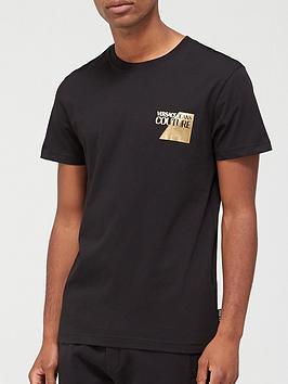 versace-jeans-couture-chest-logo-t-shirt-ndash-black