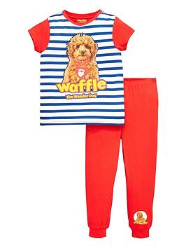 waffle-the-wonder-dog-striped-pj-set-multi