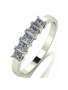 moissanite-moissanite-9ct-gold-050ct-square-brilliant-eternity-ring