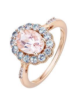 love-gem-9ct-rose-gold-oval-morganite-round-aquamarine-and-diamond-ring