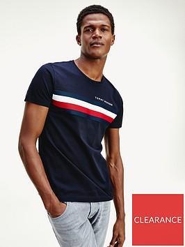 tommy-hilfiger-global-stripe-t-shirt-navy