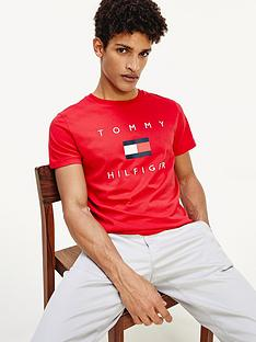 tommy-hilfiger-tommy-flag-hilfiger-t-shirt-red