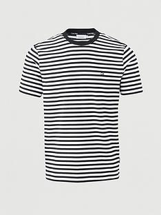 calvin-klein-organic-cotton-stripe-t-shirt-blackwhite