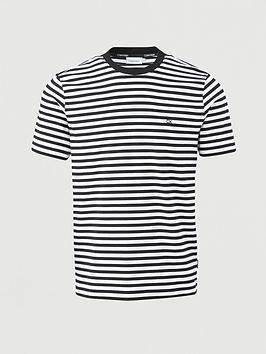 calvin-klein-organic-cotton-stripe-t-shirt-blackwhite