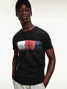 tommy-hilfiger-thnbspcool-hilfiger-fade-t-shirt-black