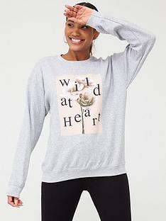 v-by-very-wild-heart-slogan-sweat-top-grey-marl
