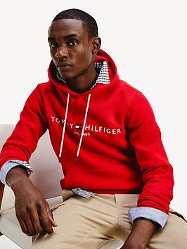 tommy-hilfiger-tommy-logo-pullover-hoodie-red