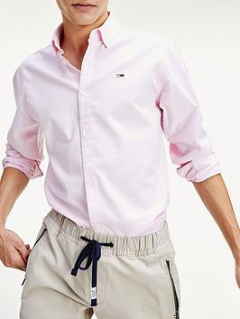 tommy-jeans-stretch-oxford-shirt-pink
