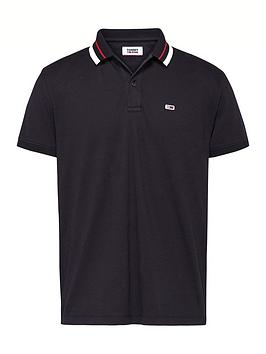 tommy-jeans-classics-tipped-stretch-polo-shirt-black