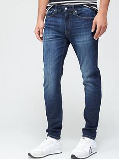 calvin-klein-jeans-slim-tapered-fit-jeans-dark-blue