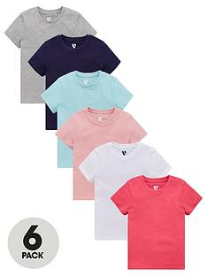 v-by-very-girls-6-pack-core-short-sleeve-t-shirts-multi