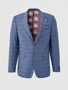 ted-baker-maeve-sterling-check-suit-jacket-blue