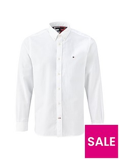 tommy-hilfiger-lightweight-oxford-shirt-white