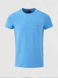 tommy-hilfiger-stretch-slim-fit-t-shirt-blue