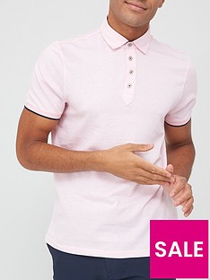 ted-baker-soya-herringbone-polo-shirt-pale-pink
