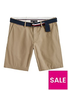 tommy-hilfiger-brooklyn-twill-shorts-with-belt-beigenbsp