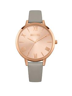 missguided-missguided-grey-strap-with-rose-gold-dial