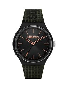 superdry-black-sunray-dial-with-khaki-printed-silicone-strap-watch