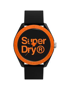 superdry-superdry-black-with-orange-printed-logo-dial-with-black-silicone-strap