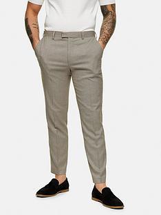 topman-slim-fit-suit-trousers-brown