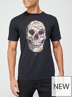 ps-paul-smith-skull-print-t-shirt-black