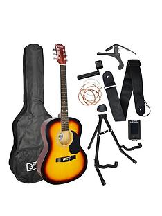 3rd-avenue-3rd-avenue-acoustic-guitar-premium-pack-sunburst