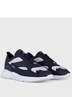 mercer-w3rd-nylon-trainers-navy
