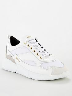 mercer-w3rd-nylon-trainers-white