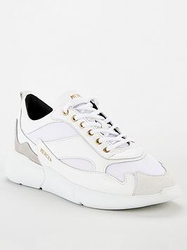mercer-w3rd-nylon-trainers-white