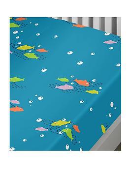 bedlam-sea-life-glow-in-the-dark-junior-fitted-sheet