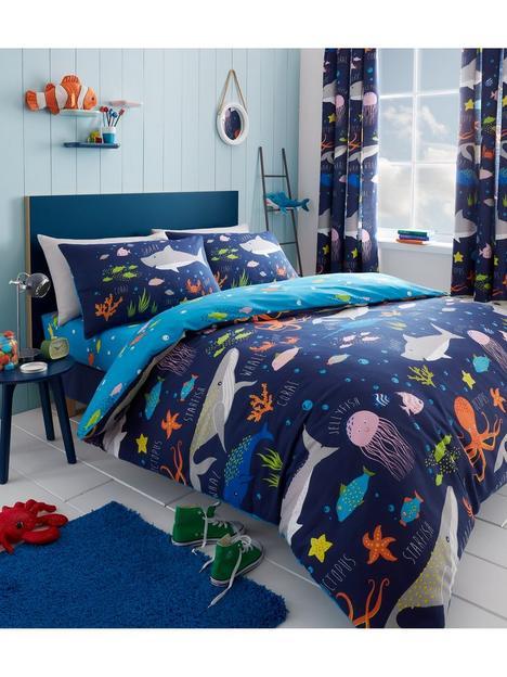 bedlam-sea-life-glow-in-the-dark-duvet-cover-set-toddler