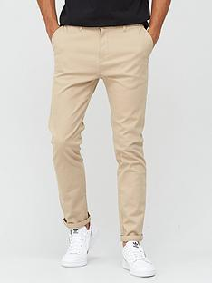 very-man-smart-slim-fit-stretch-chino-stone